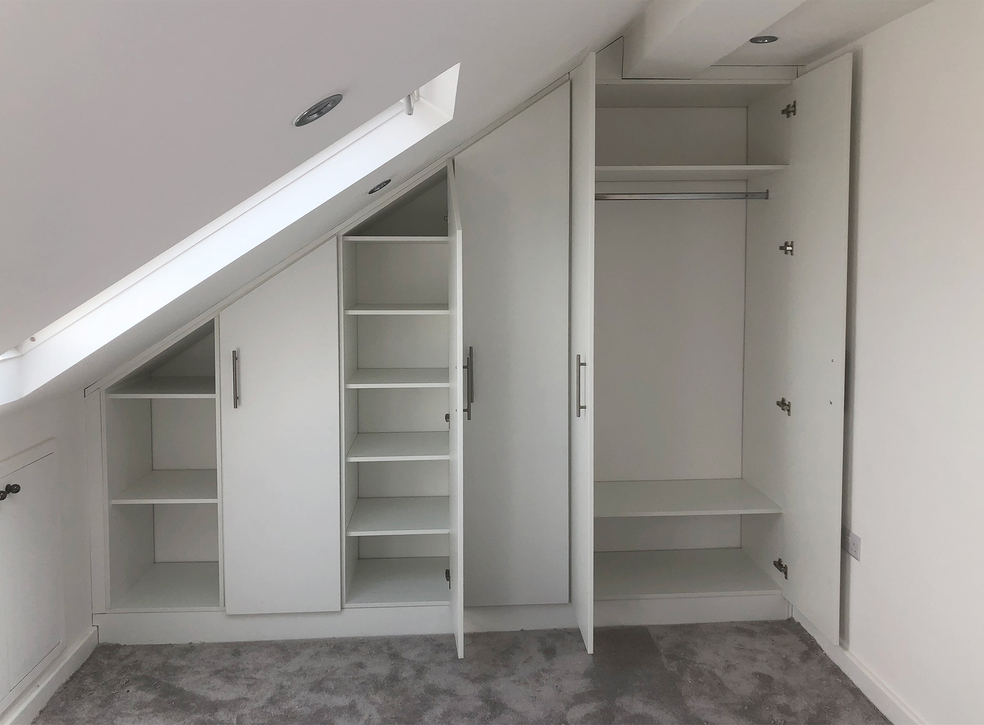 Bespoke Furniture Fitted Wardrobes In The Loft